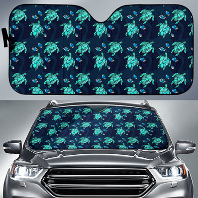 Turtle Love Auto Sun Shades | woodation.myshopify.com