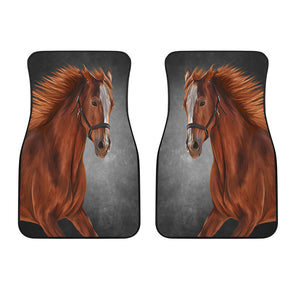 Horse Love Front Car Mats (Set Of 2) | woodation.myshopify.com