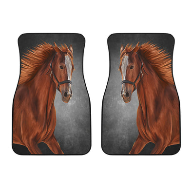 Horse Love Front Car Mats (Set Of 2)