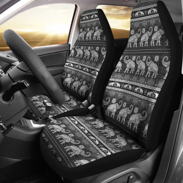 Elephant Mandala Car Seat Covers | woodation.myshopify.com