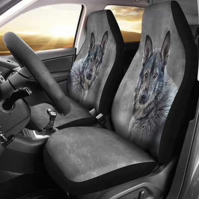 Wolf Love Car Seat Covers