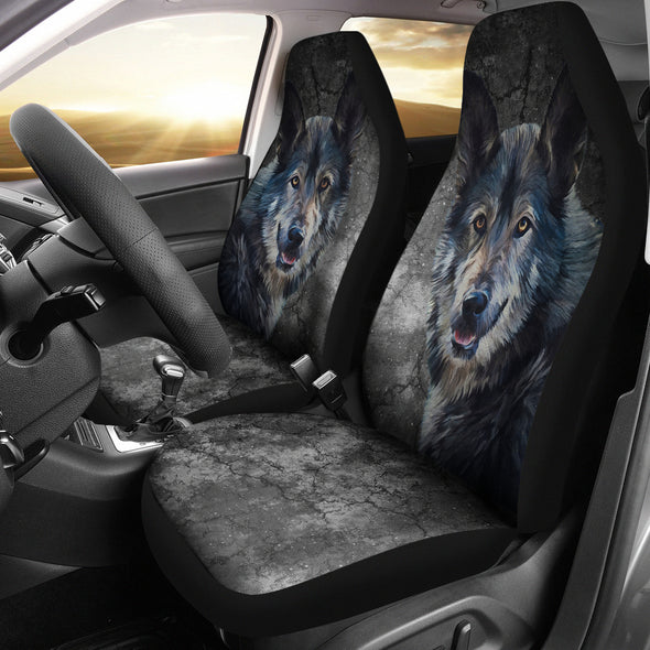 Wild Wolf Car Seat Covers