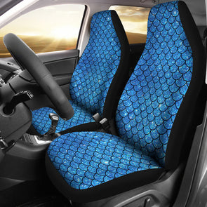 Sparkling Mermaid Car Seat Covers | woodation.myshopify.com