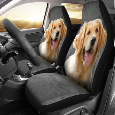 Golden Retriever Car Seat covers | woodation.myshopify.com