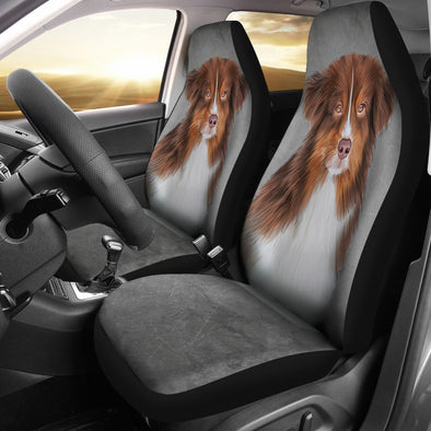 Australian Sheperd Car Seat Covers