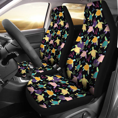 Bohemian Turtle Car Seat Covers