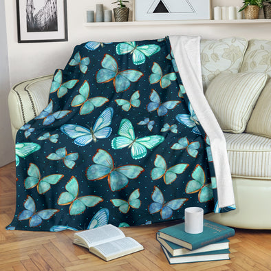 Spiritual Butterfly Blanket | woodation.myshopify.com