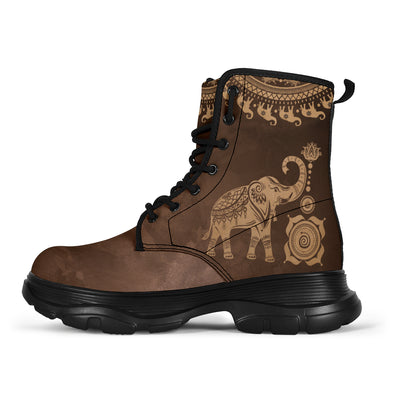Classic Good Fortune Elephant Boots
