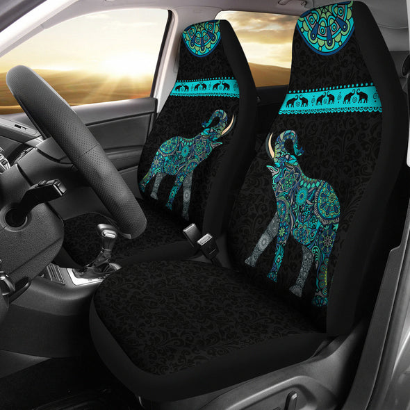Lucky Mandala Car Seat Covers | woodation.myshopify.com