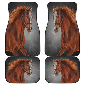 Horse Love Front And Back Car Mats (Set Of 4) | woodation.myshopify.com