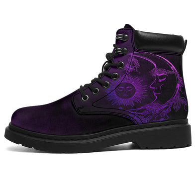 Purple Haze Sun & Moon All-Season Boots
