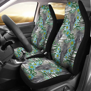 Wild Elephant Car Seat Covers