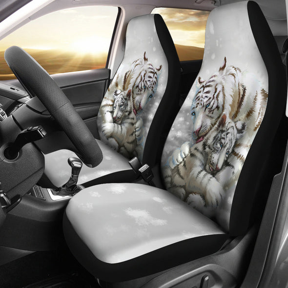 Tiger Love Car Seat Covers | woodation.myshopify.com
