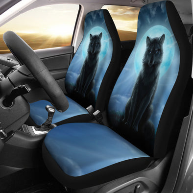 Bohemian Wolf Car Seat Covers