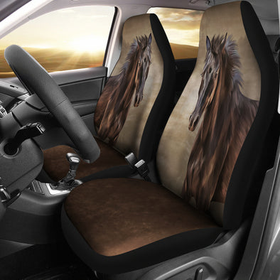 Bohemian Horse Car Seat Covers