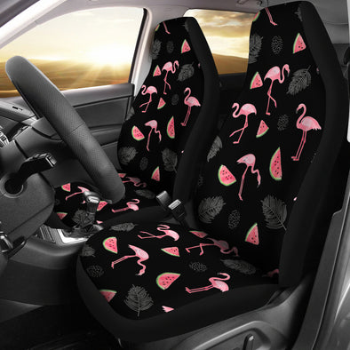 Flamingo Love Car Seat Covers | woodation.myshopify.com