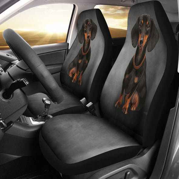 Dachshund Car Seat Covers | woodation.myshopify.com