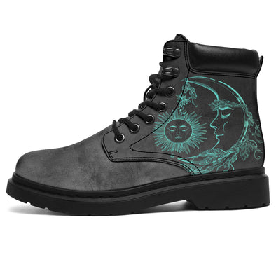 Tiffany Blue Sun & Moon All-Season Boots