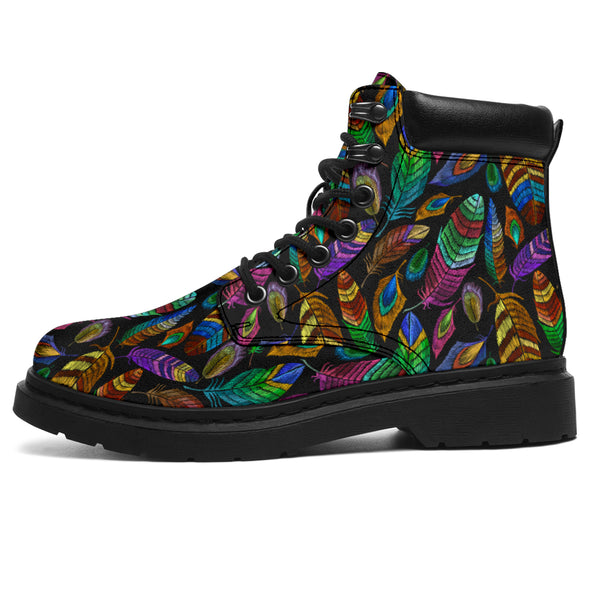 Bohemian Feather All-Season Boots