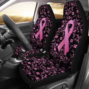 Breast Cancer Awareness Car Seat Covers | woodation.myshopify.com