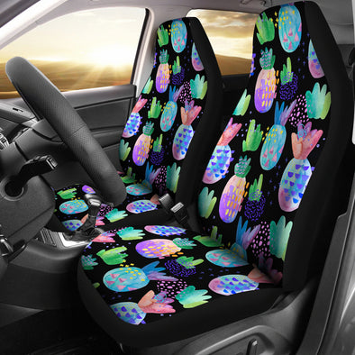 Pineapple Love Car Seat Covers