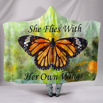 She Flies With Her Own Wings | woodation.myshopify.com
