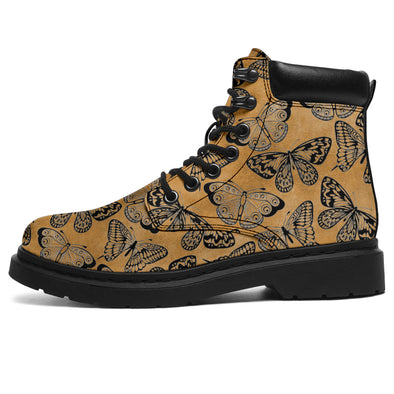 Tan Bohemian Butterfly All-Season Boots