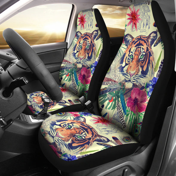 Bohemian Tiger Car Seat Covers | woodation.myshopify.com