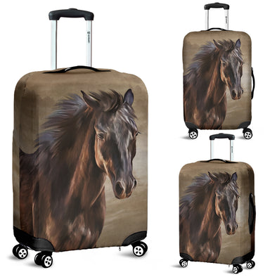 Bohemian Horse Luggage Covers