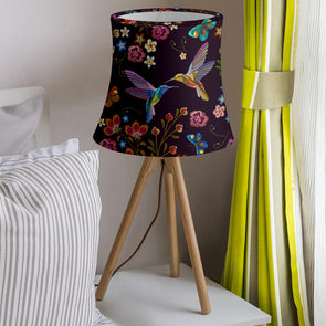 Bohemian Hummingbird Lamp Shade