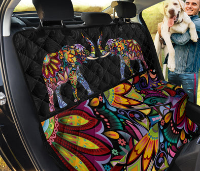 Bohemian Elephant Pet Seat Cover