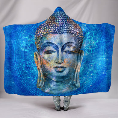 Mystical Buddha Hooded Blanket | woodation.myshopify.com
