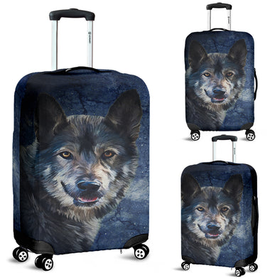 WIld Wolf Luggage Covers