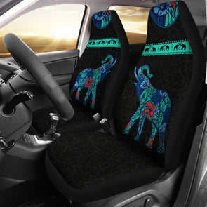 Floral Elephant Car Seat Covers | woodation.myshopify.com