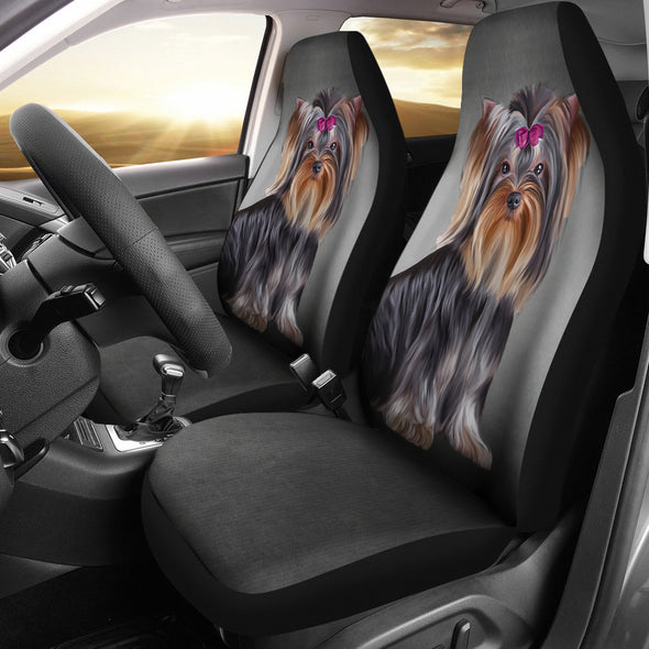 Yorkshire Terrier Car Seat Covers | woodation.myshopify.com