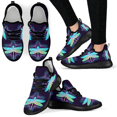 Bohemian Dragonfly Performance Sneakers