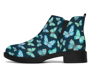 Spiritual Butterfly Chelsea Style Boots