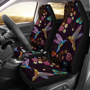 Bohemian Hummingbird Car Seat Covers