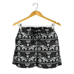 Good Fortune Elephant Shorts