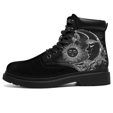 Black Sun & Moon All-Season Boots