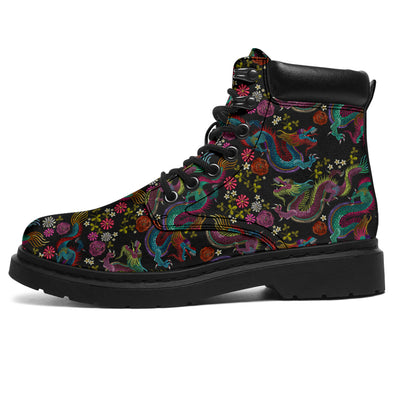 Mystical Dragon All-Season Boots