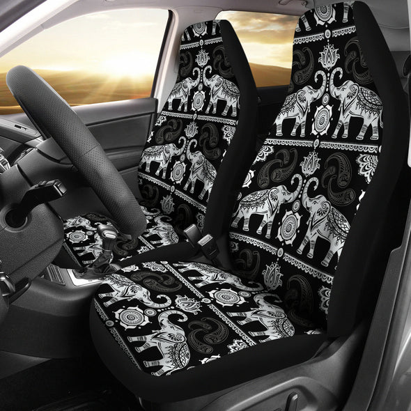 Good Fortune Elephant Car Seat Covers