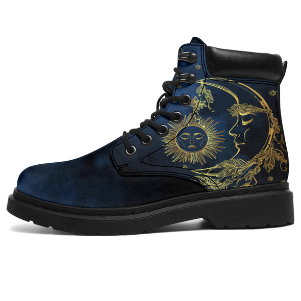 Mystical Sun & Moon All-Season Boots