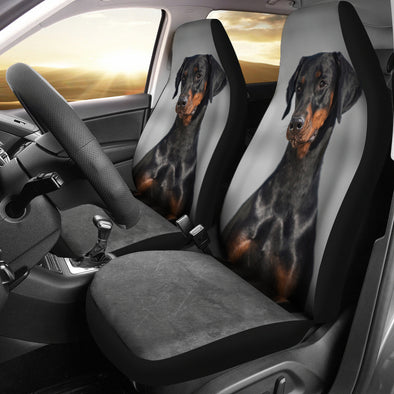 Doberman Car Seat Covers