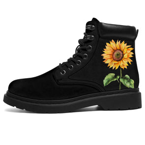 Bohemian Sunflower All-Season Boots 2.0