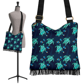 Turtle Love Boho Handbag