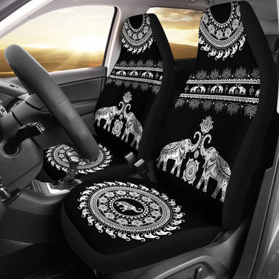 Elephant Mandala Car Seat Covers