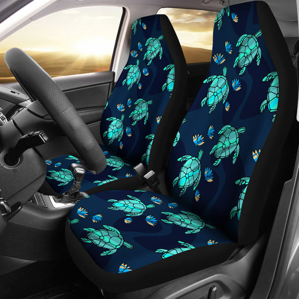 Turtle Love Car Seat Covers