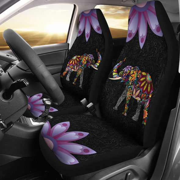 Spiritual Elephant Car Seat Covers