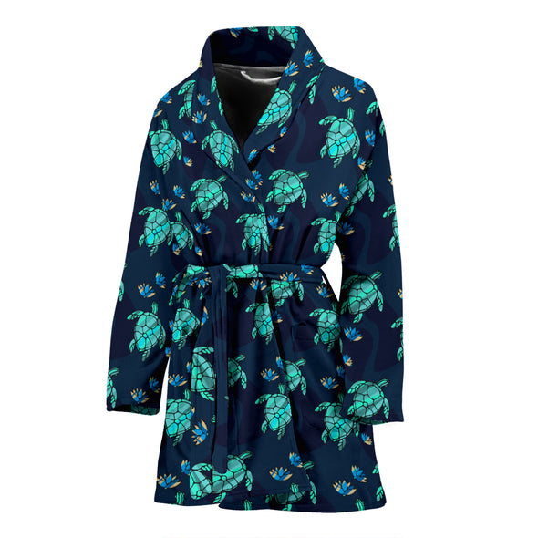 Turtle Love Bathrobe | woodation.myshopify.com